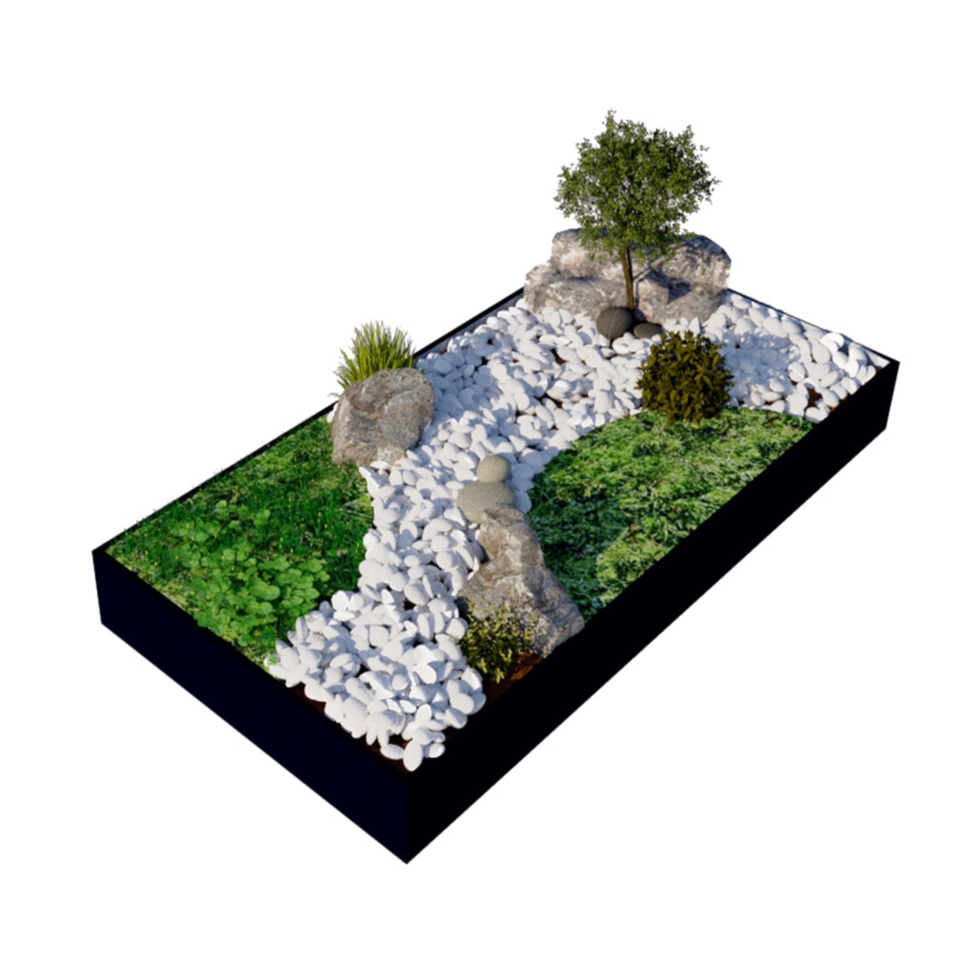 Tombes paysagères, scépultures, végétal, GHC Green hand co Semita