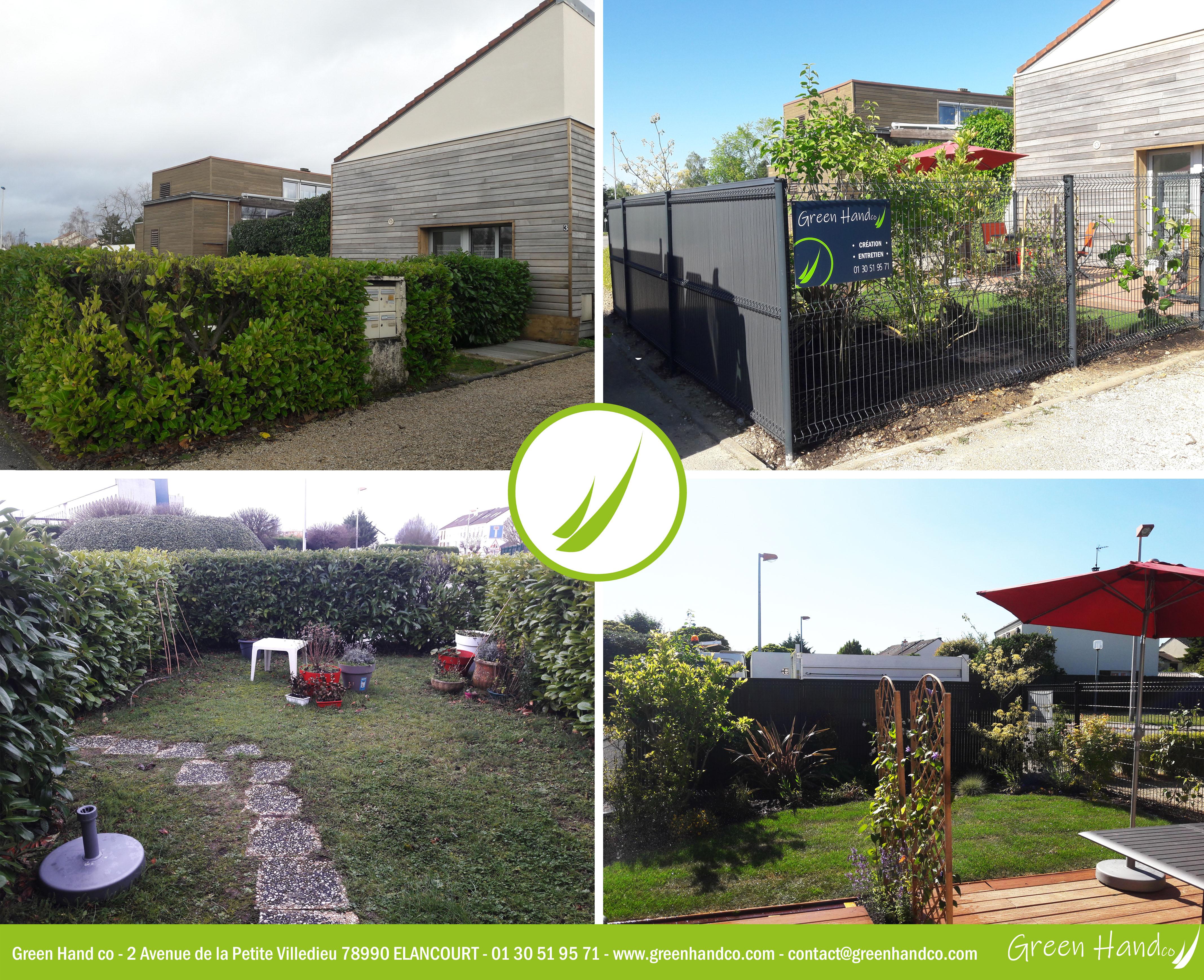 Terrasse, composite, green hand co, création d'espaces verts,